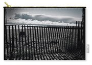 Beach And Fence Carry-all Pouch