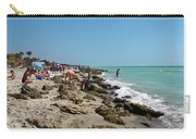 Beach And Rocks Carry-all Pouch