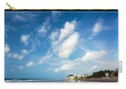 Beach And Sky In Ecuador Carry-all Pouch