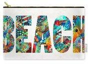 Beach Art - Beachy Keen - By Sharon Cummings Carry-all Pouch