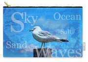 Beach Art Seagull By Sharon Cummings Carry-all Pouch