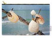Beach Art - Seashell Shrine - Sharon Cummings Carry-all Pouch