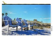 Beach Art - Waiting For Friends - Sharon Cummings Carry-all Pouch