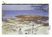 Beach At Cabasson Carry-all Pouch