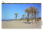 Beach At Cabopino Carry-all Pouch