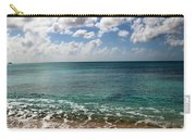 Beach At Grand Turk Carry-all Pouch