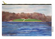 Beach At Lake Macbride Carry-all Pouch