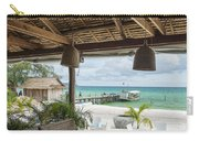 Beach Bar In Sok San Area Of Koh Rong Island Cambodia Carry-all Pouch