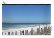 Beach Behind The Fence Carry-all Pouch