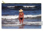 Beach Blonde - Digital Art Carry-all Pouch