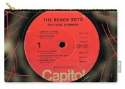 Beach Boys Endless Summer Lp Label Carry-all Pouch
