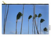 Beach Cabanas And Palm Trees Carry-all Pouch