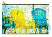 Beach Chair Print Carry-all Pouch