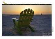 Beach Chair Sunset Carry-all Pouch