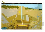 Beach Chair Work Number 3 Carry-all Pouch