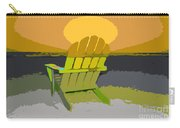 Beach Chair Work Number Seven Carry-all Pouch