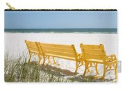 Beach Chairs By Darrell Hutto Carry-all Pouch