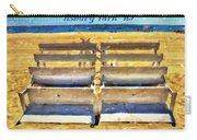 Beach Closed Asbury Park Nj Carry-all Pouch