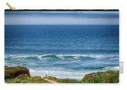 Beach Cloud Streak Carry-all Pouch