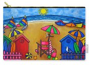 Beach Colours Carry-all Pouch by Lisa  Lorenz