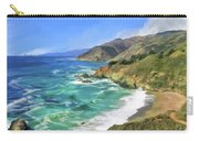 Beach Cove At Big Sur Carry-all Pouch