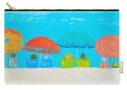 Beach Decor - Umbrellas Panorama Carry-all Pouch
