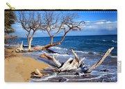 Beach Driftwood Fine Art Photography Carry-all Pouch