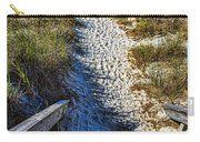 Beach Footprints - Boca Grande Florida Carry-all Pouch