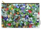Beach Glass Mix Carry-all Pouch