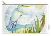 Beach Heron Carry-all Pouch
