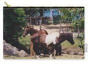 Beach Horses Carry-all Pouch