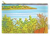 Beach House On The Bay Carry-all Pouch