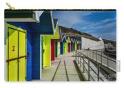 Beach Huts At Barry Island Carry-all Pouch