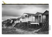 Beach Huts North Norfolk Uk Carry-all Pouch