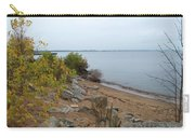 Beach In Escanaba Carry-all Pouch
