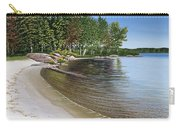Beach In Muskoka Carry-all Pouch