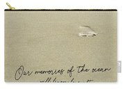 Beach Jog Quote Carry-all Pouch