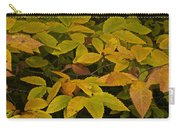 Beach Leaves Carry-all Pouch