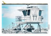 Beach Lifeguard Tower Carry-all Pouch