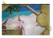 Beach Mural Carry-all Pouch