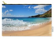 Beach Of Hawaii Carry-all Pouch