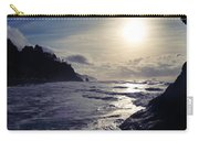 Beach - Oregon - Golden Sun Carry-all Pouch