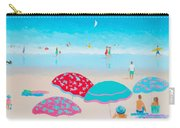 Beach Painting - A Golden Day Carry-all Pouch