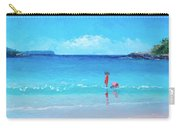 Beach Painting - A Sea Breeze Carry-all Pouch