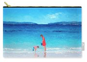 Beach Painting - Cooling Off Carry-all Pouch