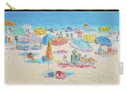 Beach Painting - Crowded Beach Carry-all Pouch