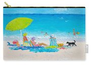 Beach Painting - Lazy Beach Day Carry-all Pouch