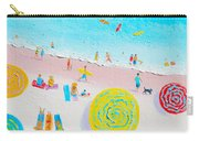 Beach Painting - Lazy Lingering Days Carry-all Pouch