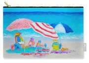 Beach Painting - Summer Beach Vacation Carry-all Pouch