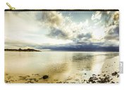 Beach Panorama Of A Sunrise Over The Sea Carry-all Pouch